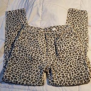 True Vintage 90's Leopard High Rise Jeans